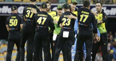 India losses the first T20, Australia won by 4 runs via D/L method