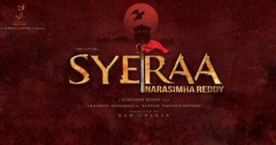 Syeraa movie release