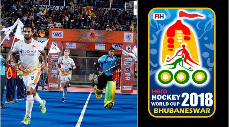 The grand opening of Men's Hockey World Cup 2018 in Bhubaneswar