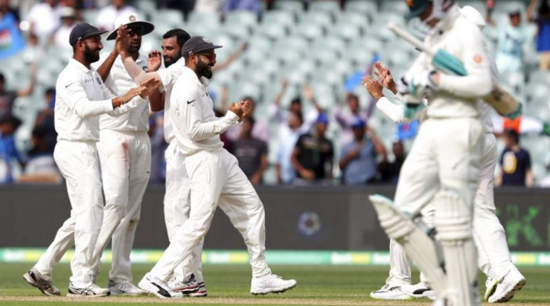 India Leads Australia in 1st Test 1-0, Wins by 31 runs