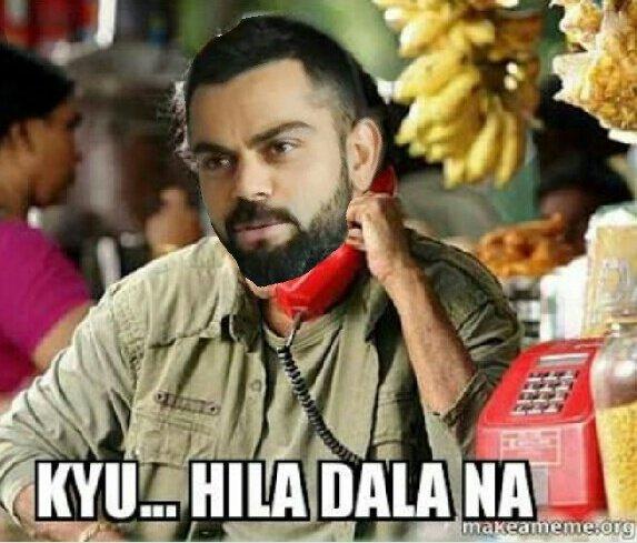 Kohli Funny Memes