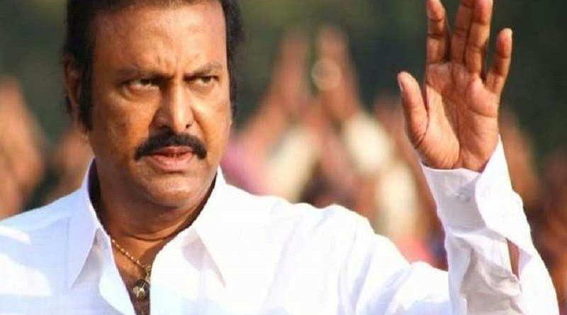 Mohan Babu fires on Chandra Babu Naidu's government