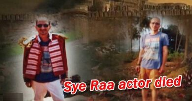 Sye Raa Movie Artist Dies Due To Heat Stroke