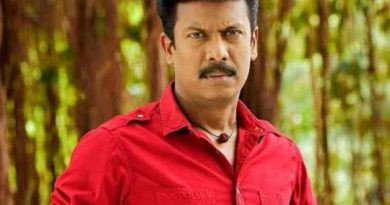 Samuthirakani plays a role in RRR